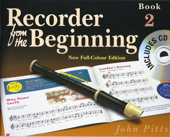 Recorder From The Beginning : Pupil's Book/CD 2