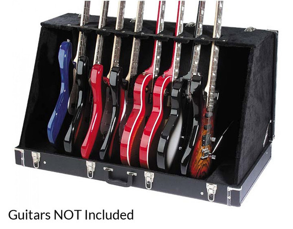 Stagg GDC-8 Guitar Stand Case (Holds 8 Electric or 4 Acoustic Guitars)