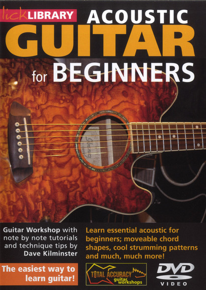 Acoustic Guitar For Beginners (DVD)