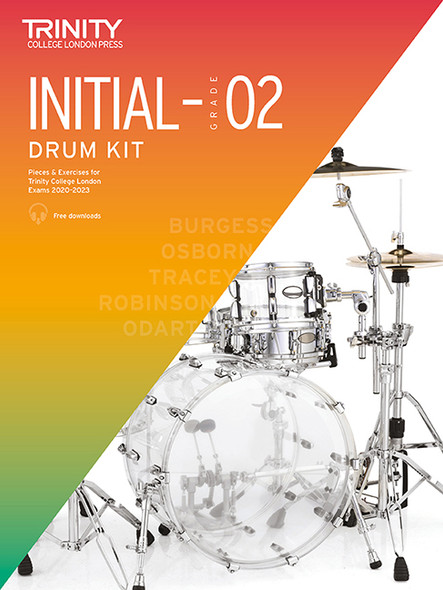 Trinity College Drum Kit Initial-Grade 2