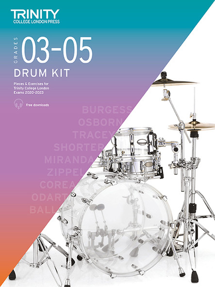 Trinity College Drum Kit Grades 3-5