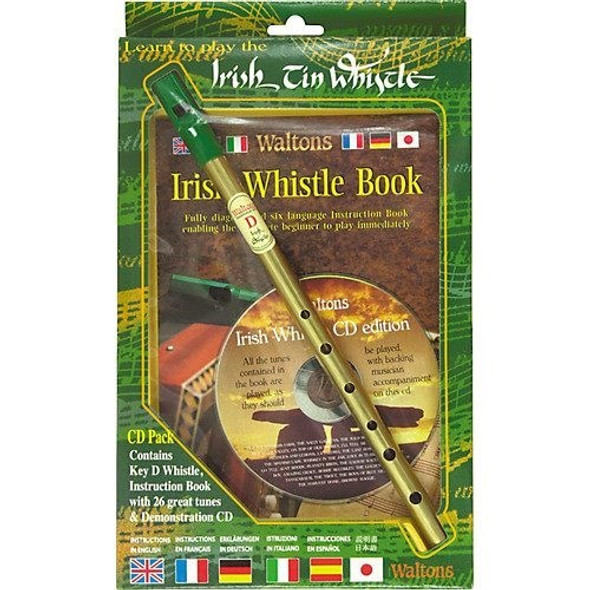 Waltons Tin Whistle CD Pack / Irish