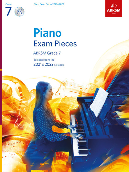 Piano Exam Pieces 2021 & 2022 - Grade 7 + CD