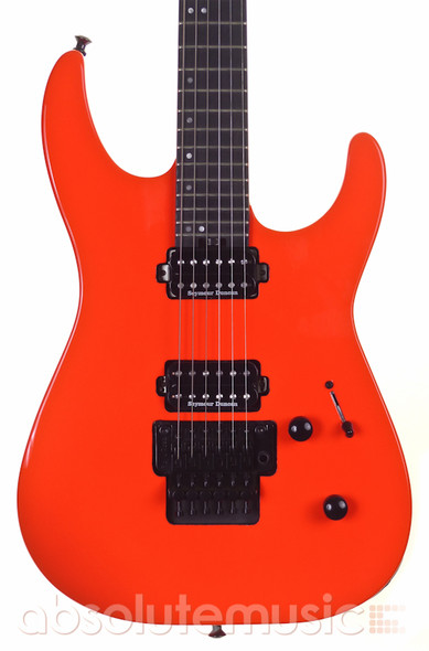 Jackson Pro Series Dinky DK2 Electric Guitar, Rocket Red, Ebony (b-stock)