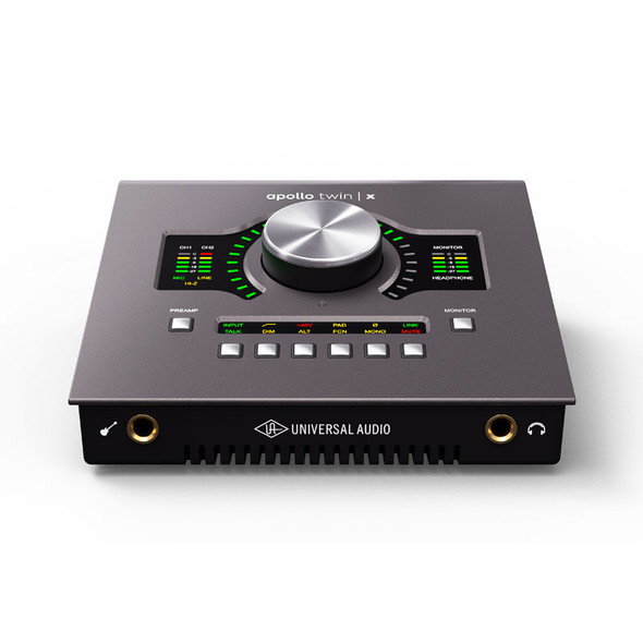 Universal Audio Apollo Twin X QUAD Heritage Edition Thunderbolt 3 Audio Interface with DSP