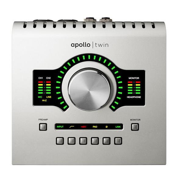 Universal Audio Apollo Twin USB Heritage Edition Audio Interface for WIndows