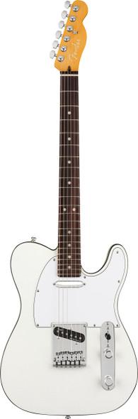 Fender American Ultra Telecaster, Arctic Pearl, Rosewood (ex-display)