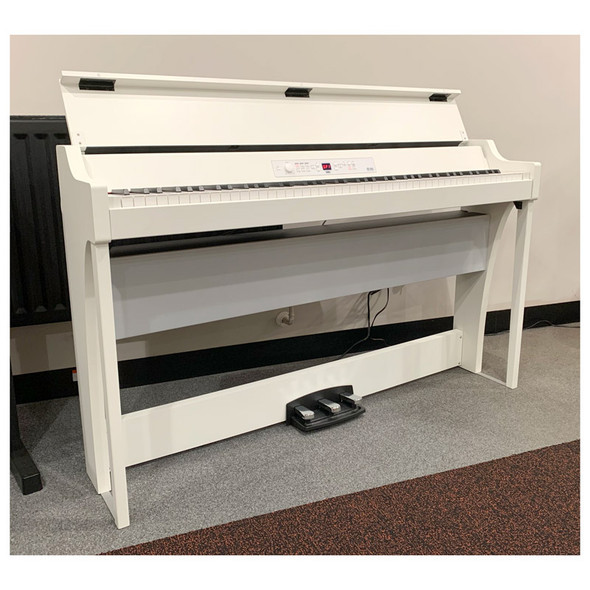Korg G1AIR-WH 88 Key Cabinet Piano, White (pre-owned)
