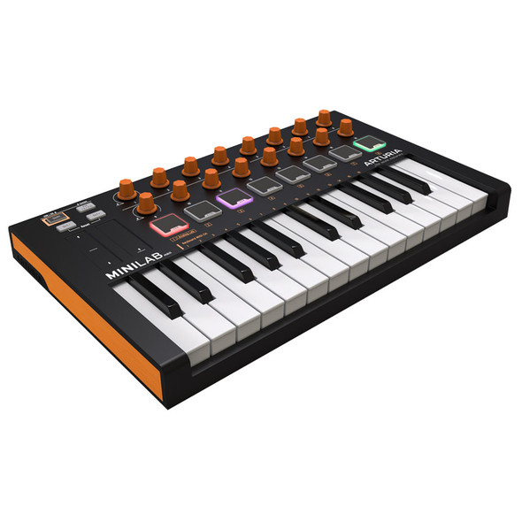 Arturia MiniLab MKII USB Keyboard Controller Orange Edition