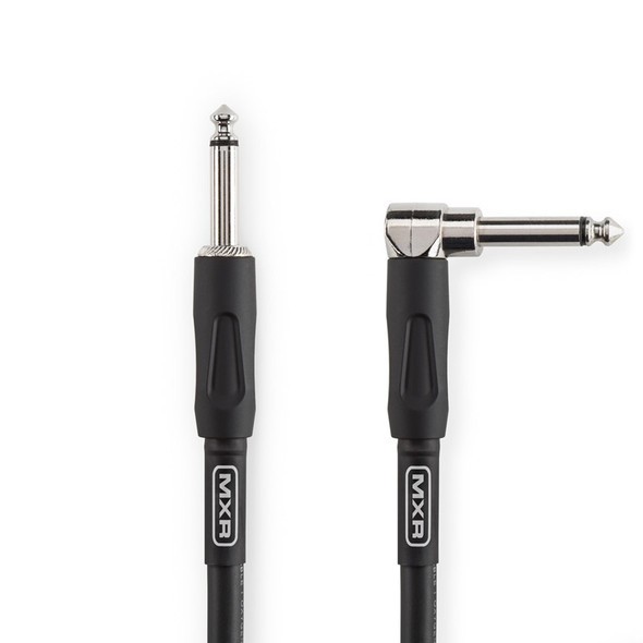 MXR 10ft Pro Series Instrument Cable, Right Angled Jack to Straight Jack