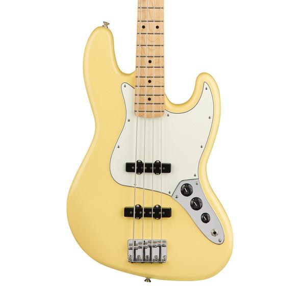 Fender Player Jazz Bass Guitar, Buttercream, Maple