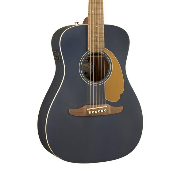 Fender Malibu Player Electro-Acoustic Guitar, Midnight Satin