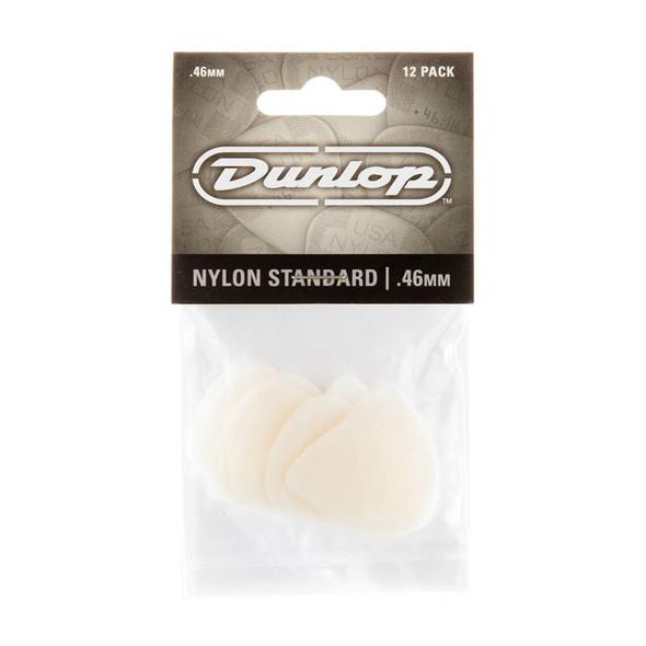 Dunlop Nylon Standard Picks .46mm, 12 Pack