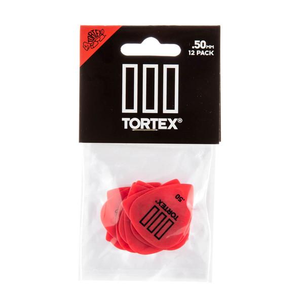 Dunlop Tortex TIII Picks .50mm, Pack of 12