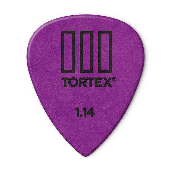 Dunlop Tortex TIII Picks 1.14mm, Pack of 12