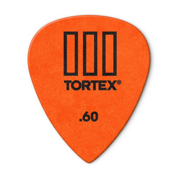 Dunlop Tortex TIII Picks .60mm, Pack of 12