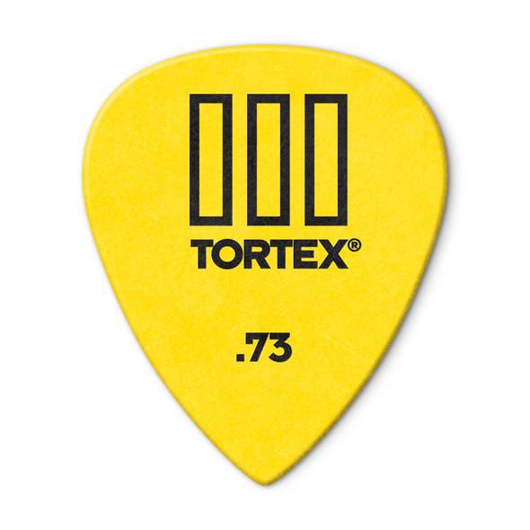 Dunlop Tortex TIII Picks .73mm, Pack of 12