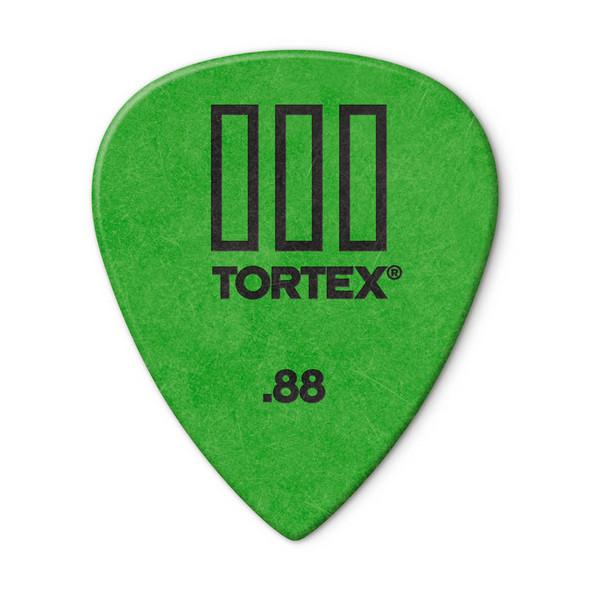Dunlop Tortex TIII Picks .88mm, Pack of 12