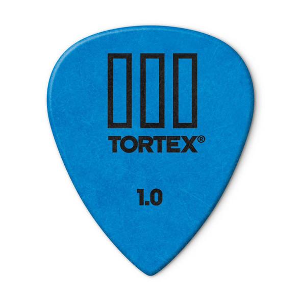 Dunlop Tortex TIII Picks 1mm, Pack of 12