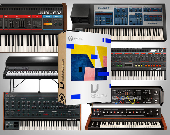 Arturia V-Collection 8 Virtual Instrument Collection (DOWNLOAD)