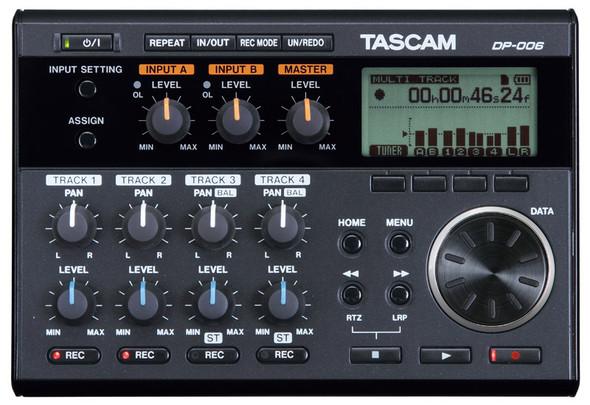 Tascam DP-006 6 Track Digital Pocketstudio