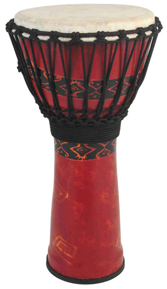 Toca SFDJ-12RP Toca 12 Inch Synergy Freestyle Djembe, Bali Red