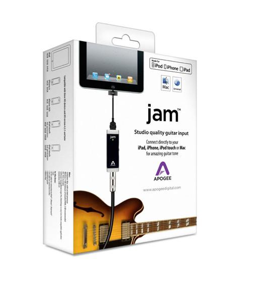 Apogee JAM studio quality input for iPad, iPhone & Mac