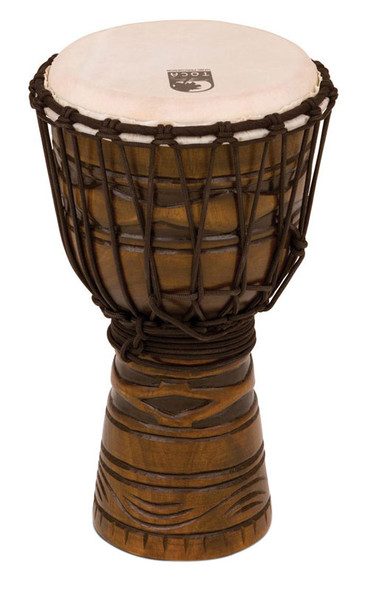 Toca TODJ-8AM 8-Inch Origins Series Djembe, African Mask