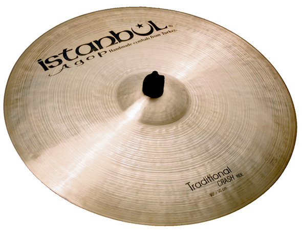 Istanbul Traditional 19 Inch Crash/Ride Cymbal