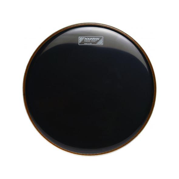 Aquarian CC20BK 20 inch Classic Black Bass Drum Head