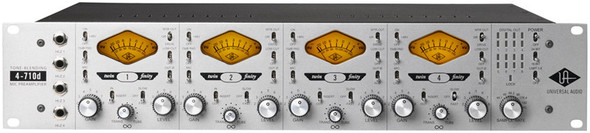 Universal Audio 4-710d Quad mic preamp with digital output