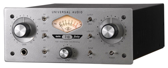 Universal Audio 710 Twin-Finity Single Channel Mic preamp/DI