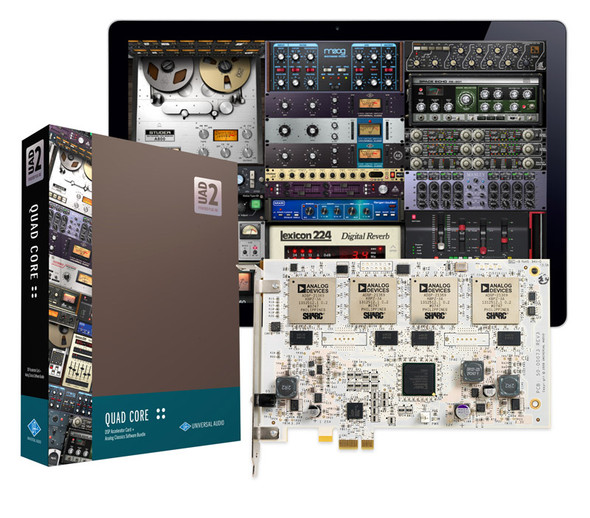 Universal Audio UAD-2 Quad Core Pak (PCIe)