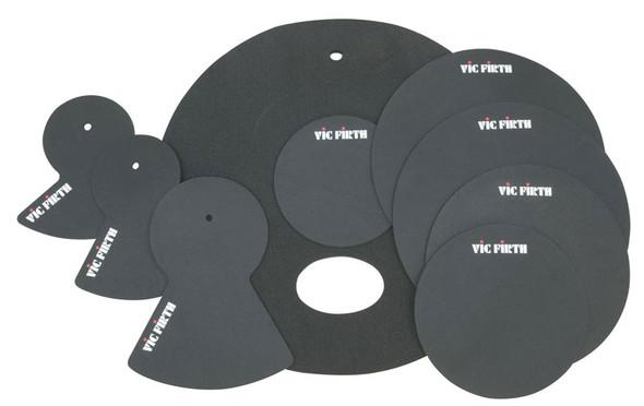 Vic Firth Drum Kit Mute Set 10,12,14,14,20, 20-Fusion