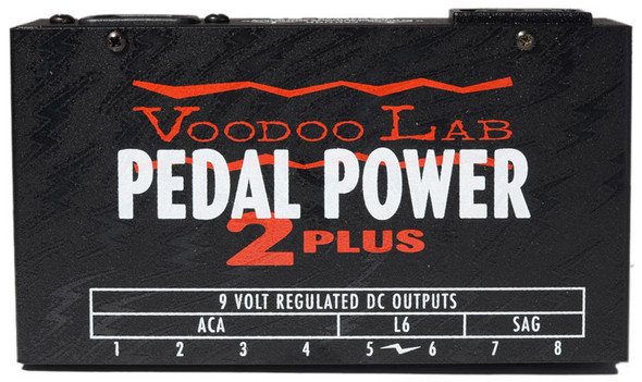 VooDoo Lab Pedal Power 2 Plus Effects Power Supply DC Pedals