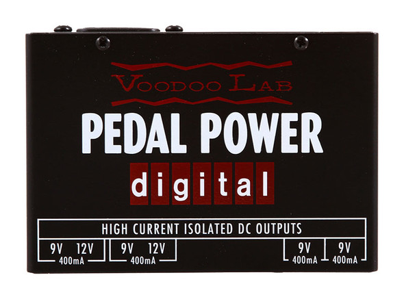 VooDoo Lab Pedal Power Digital Effects Pedals Power Supply