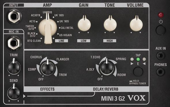 Vox MINI3 G2 Modelling Guitar Amplifier, Ivory