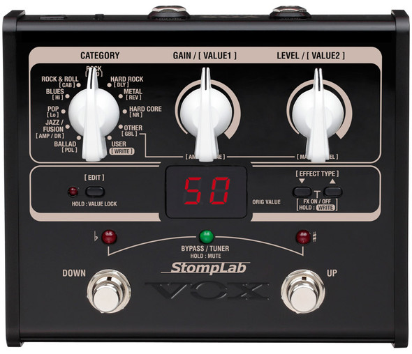 Vox StompLab SL1G Guitar Multi FX Pedal