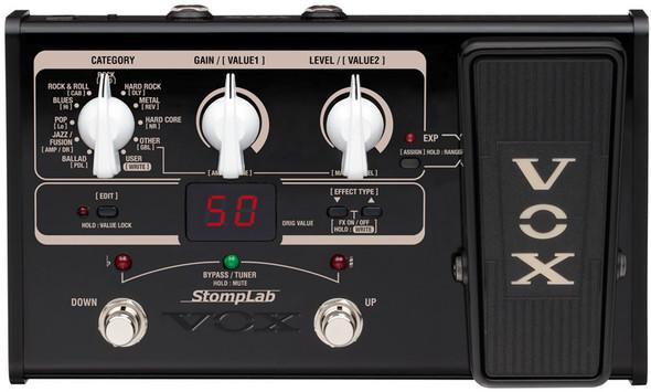 Vox StompLab SL2G Guitar Multi FX Pedal