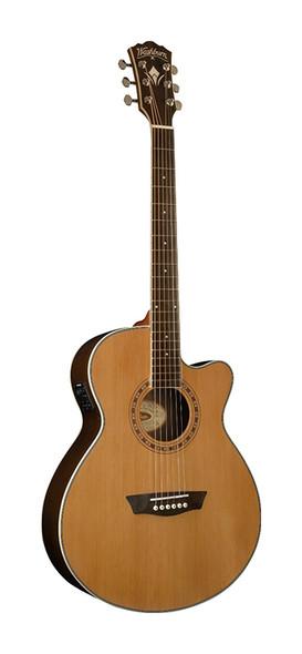 Washburn WMJ21SCE Electro Acoustic Guitar