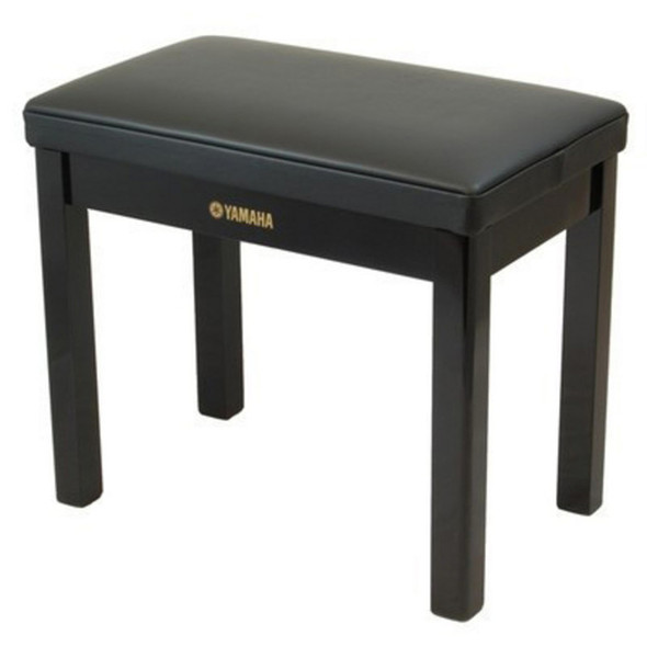 Yamaha GTB Deluxe Piano Bench for Clavinova , Polished Ebony
