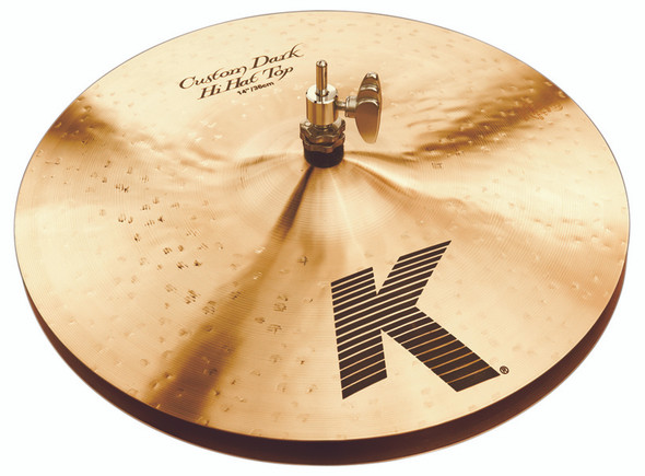 Zildjian K Custom 14 Inch Dark Hi Hat Cymbals