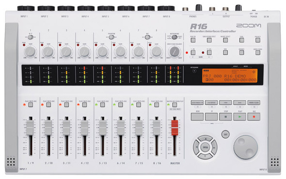 Zoom R16 multitrack recorder, audio interface & control surface