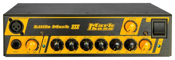 Markbass Little Mark III 3 Bass Guitar Amplifier Head 500 Watt  (ex-display)