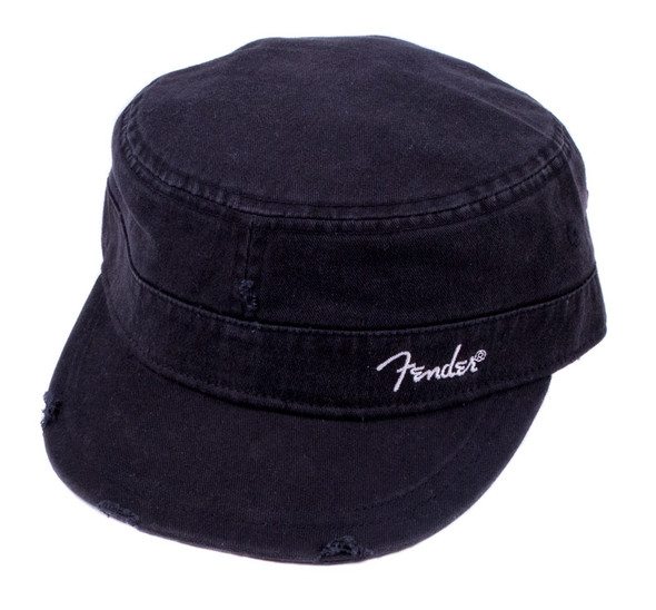 Fender Military Cap, Black, Small/Medium