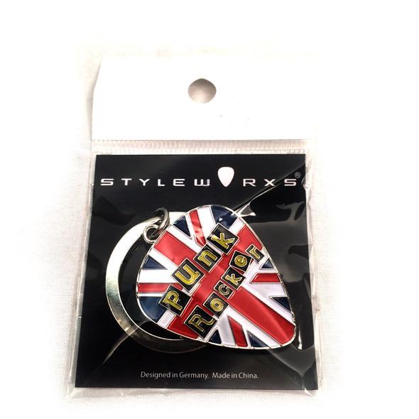 Styleworxs Large Key Ring, Punk Rocker