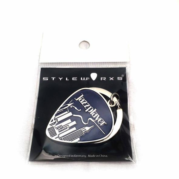 Styleworxs Large Key Ring, Jazz Player