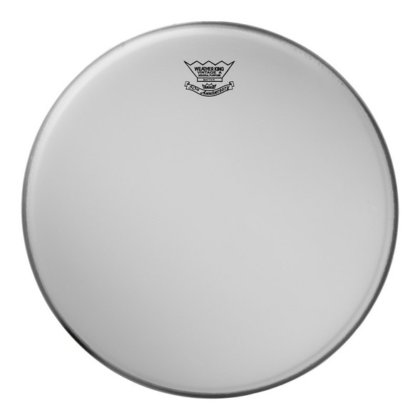 Remo VA-0114-00 14 Inch Vintage Coated Ambassador Drum Head
