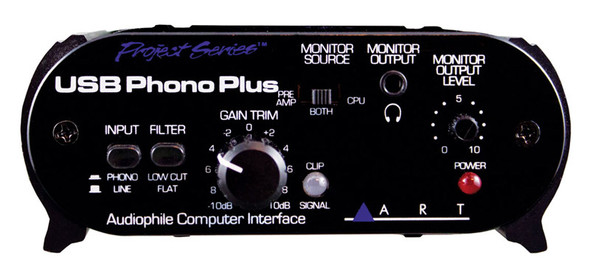 ART USB Phono Plus PS Preamp and Audio Interface