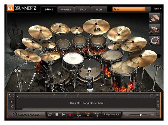 Toontrack EZX Drumkit From Hell (Serial Download)